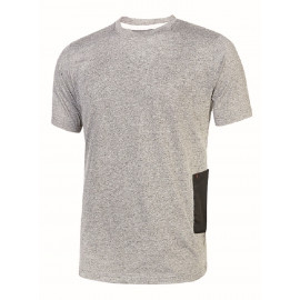 T-SHIRT U POWER ROAD GREY SILVER