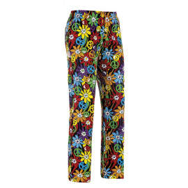 PANTALONE CUOCO COULISSE PEACE AND LOVE