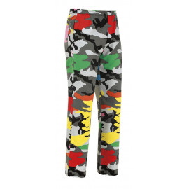 PANTALONE CUOCO COULISSE CAMOUFLAGE
