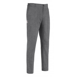 PANTALONE UOMO SLIM FIT GREY MIX