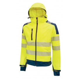 GIACCA SOFT SHELL MIKY YELLOW FLUO
