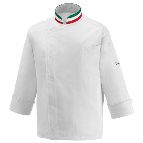 CHEF PIZZAIOLO TROUSERS COULISSE WITH PATCH POCKETS EGOCHEF MADE IN ITALY