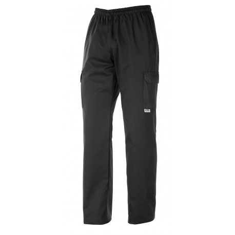 PANTALONE COULISSE TASCHE BLACK RA 204002