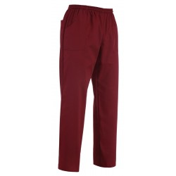 PANTALONE COULISSE TASCA A TOPPA BORDEAUX