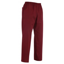 PANTALONE COULISSE BORDEAUX