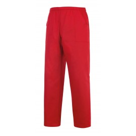 PANTALONE COULISSE TASCHE A TOPPA RED