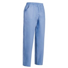 PANTALONE COULISSE TASCA A TOPPA LIGHT BLUE