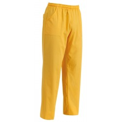 PANTALONE COULISSE TASCA A TOPPA YELLOW