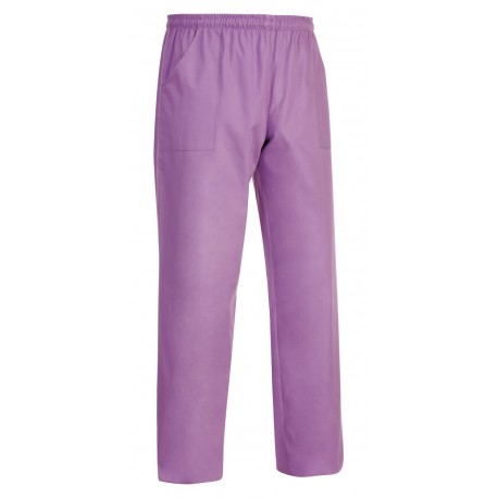 PANTALONE COULISSE TASCA A TOPPA LILLA