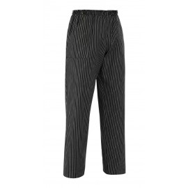 PANTALONE COULISSE TASCHE A TOPPA GESSATO