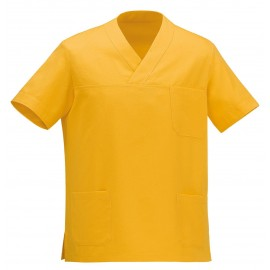 CASACCA COLLO A V LEONARDO YELLOW M/M