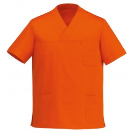 CASACCA COLLO A V LEONARDO ORANGE M/M