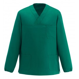 CASACCA COLLO A V LEONARDO M/L MEDICAL GREEN
